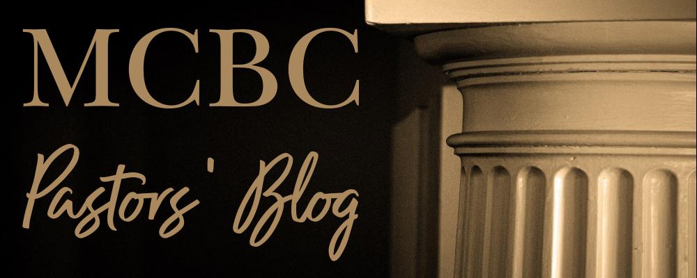 Pastors Blog Slide